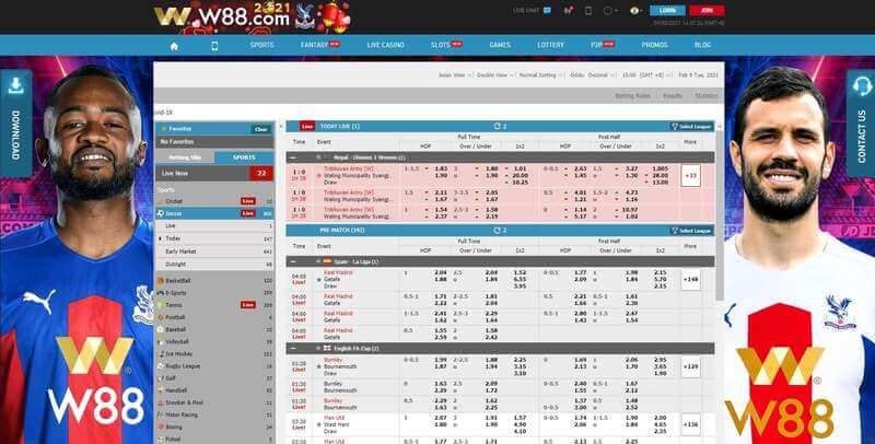 Play W88 Sportsbook Conveniently - Any Time and Anywhere