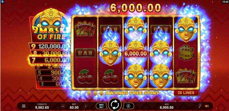 Top-Rated Games, Spinning Only at W88 Slots - 9 Mask of Fire