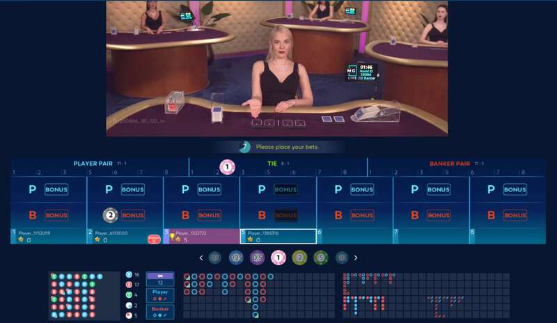 MG Live Club Massimo - Your Partner in Online Casino - Live Gaming
