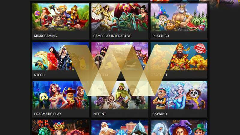 Games Available for Gambling Online W88 Com - Slots
