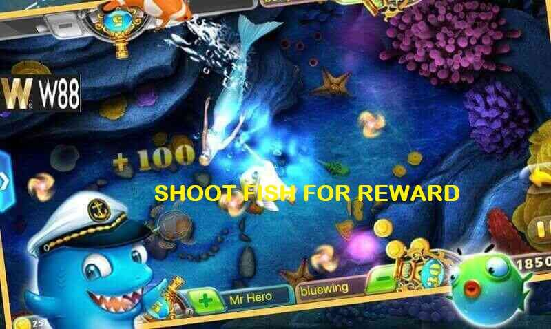 Shoot Fish for Reward Feature