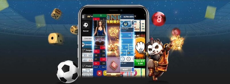 Games Available from W88 Mobile - 5 in 1 Gambling