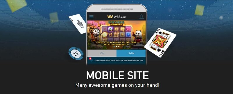 Games Available from W88 Mobile Site