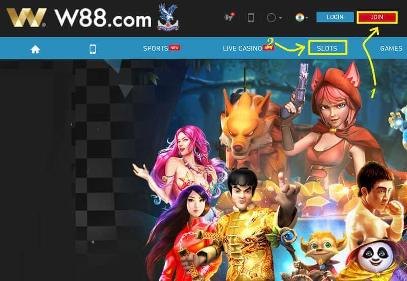 Register W88 Slot and Dominate as Slot Royalty